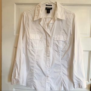 Avenue button up stretch Sz14/16 classic fit shirt
